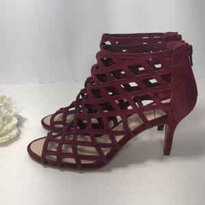 d1c0b1c11950 Sole Society Shoes - Sole Society Portia Caged Mid Heel Sandal